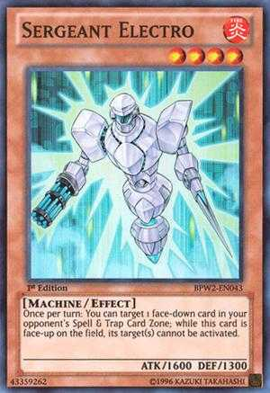 Sergeant Electro